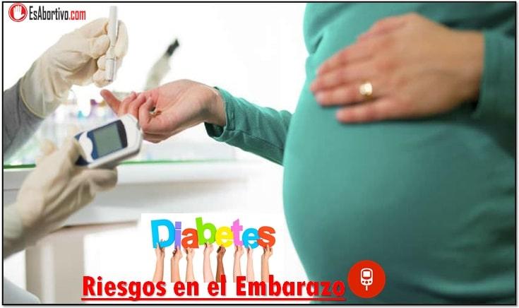 Riesgos en el embarazo diabetes