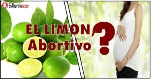 el limon en el embarazo