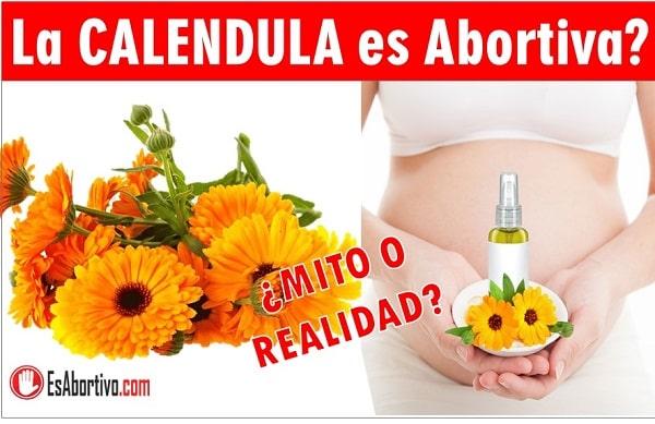calendula en el embarazo