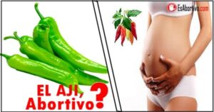 el aji es malo en el embarazo