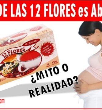 te de 12 flores en el embarazo