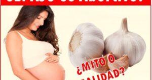 el ajo en el embarazo