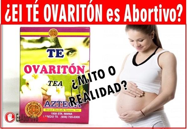 te de ovariton en el embarazo